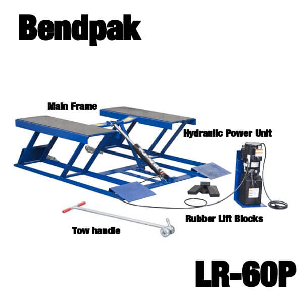 Bendpak LR-60P portable car lift kit