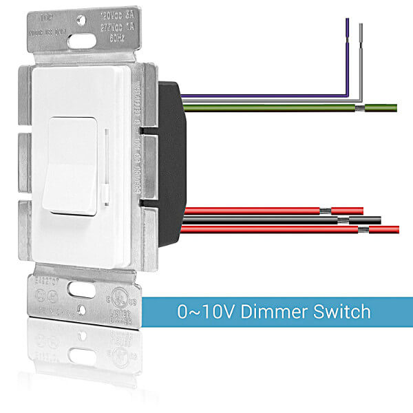 0 - 10V dimmer switch